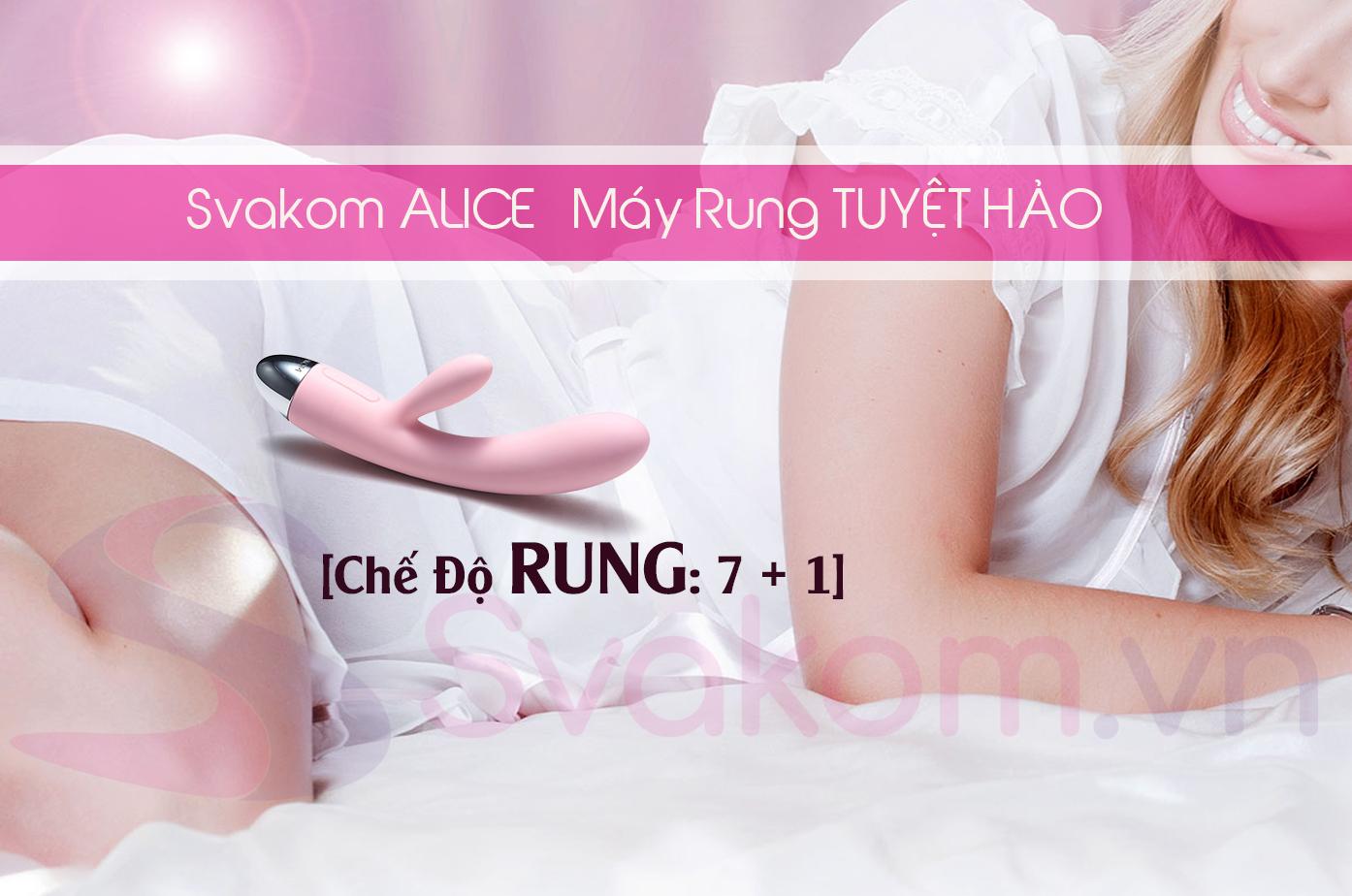7 + 1 chế độ rung của Alice Svakom cực chất