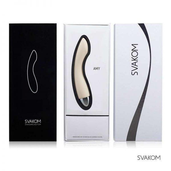 bao bì của máy rung cho nữ Svakom Amy