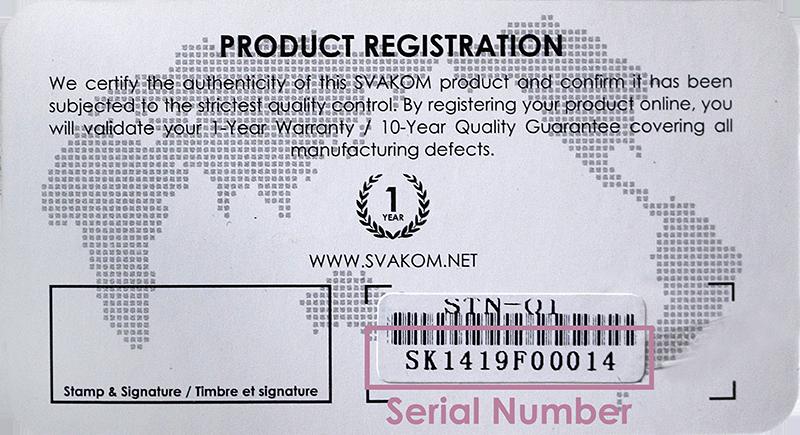 Bảo hành Warranty của Svakom.vn cho sextoy USA Svakom