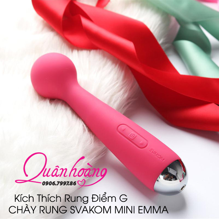 Chày Rung Điểm G Mini Svakom Emma Magic Wand